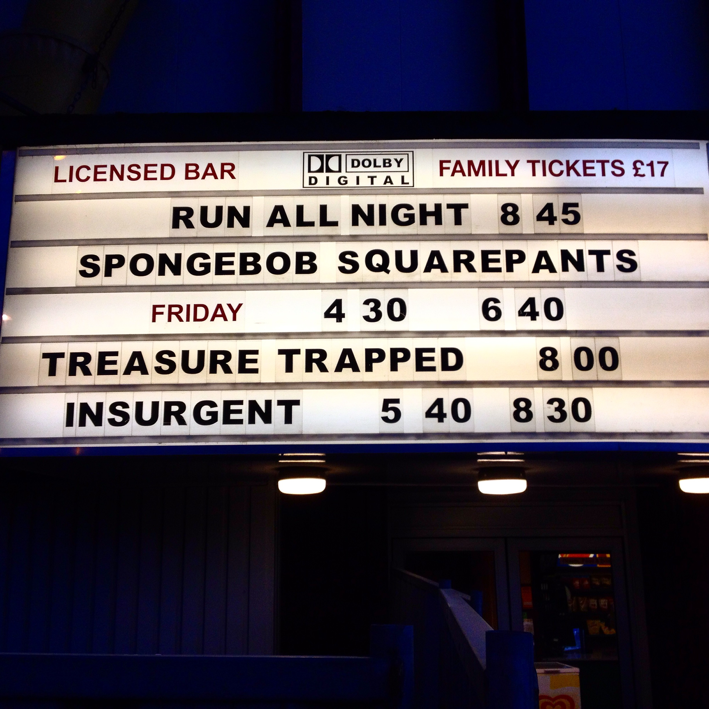 Still of Savoy Cinema from Indie Film Distribution: Treasure Trapped Nottingham blog